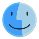 128x128px size png icon of Finder 1