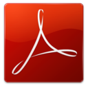 128x128px size png icon of Acrobat Reader