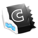 Black 'N Blue CandyBar Icon