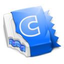 128x128px size png icon of Blue CandyBar