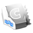 128x128px size png icon of Metallic Blue CandyBar