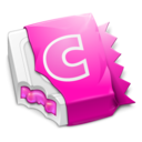 128x128px size png icon of Pink CandyBar