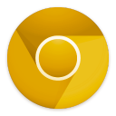128x128px size png icon of Google Chrome Canary