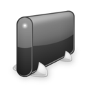 128x128px size png icon of Hdd v2