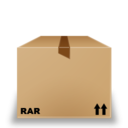 128x128px size png icon of Rar