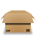 128x128px size png icon of Zip