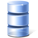 128x128px size png icon of Database Inactive Hot