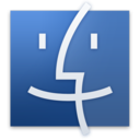 128x128px size png icon of Finder Original