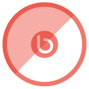 128x128px size png icon of Bebo
