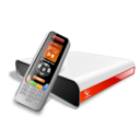 128x128px size png icon of Remote