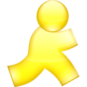 128x128px size png icon of AIM 1