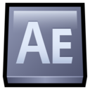 128x128px size png icon of Adobe After Effects