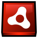 128x128px size png icon of Adobe Air