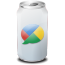 128x128px size png icon of Drink web20 google buzz