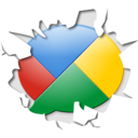 128x128px size png icon of Inside google buzz