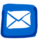 128x128px size png icon of Mail 512x512