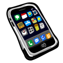 128x128px size png icon of iPhone