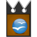 128x128px size png icon of openoffice