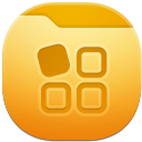 128x128px size png icon of folder apps