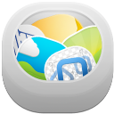 128x128px size png icon of recycle bin full 2