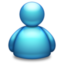 Live Messenger blue Icon
