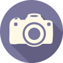 128x128px size png icon of Camera