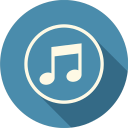 128x128px size png icon of Sound Music