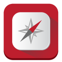 128x128px size png icon of Compass