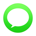 128x128px size png icon of iMessage