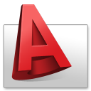 128x128px size png icon of Autodesk AutoCAD