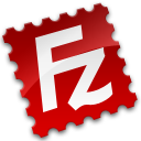 128x128px size png icon of FileZilla Client