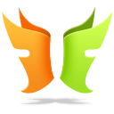128x128px size png icon of Flylink DC plus plus