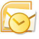 128x128px size png icon of Outlook
