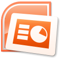 128x128px size png icon of PowerPoint