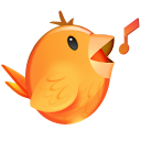 128x128px size png icon of Songbird