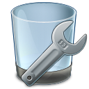 128x128px size png icon of Uninstall Tool