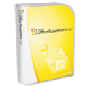 128x128px size png icon of Office PowerPoint