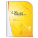 128x128px size png icon of Office Viso Professional