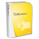 128x128px size png icon of Office Word