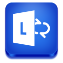 128x128px size png icon of lync