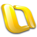 128x128px size png icon of Outlook Mac