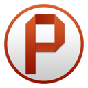 128x128px size png icon of PowerPoint Circle
