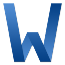 128x128px size png icon of Word Letter
