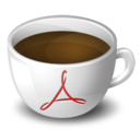 128x128px size png icon of Coffee Acrobat