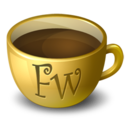 128x128px size png icon of Coffee Fireworks