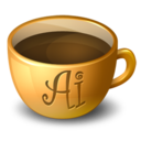 Coffee Illustrator Icon