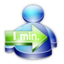128x128px size png icon of Msn Buddy 1min