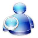 128x128px size png icon of Msn Buddy Away