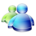 128x128px size png icon of Msn Messenger