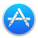 128x128px size png icon of appstore